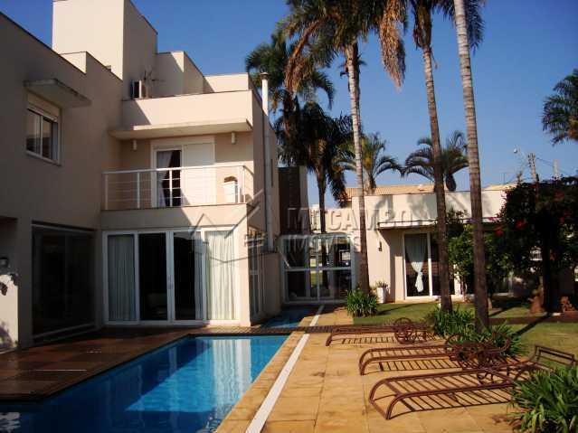 ÁREA EXTERNA - Casa em Condomínio 3 quartos à venda Itatiba,SP - R$ 2.500.000 - FCCN30088 - 3