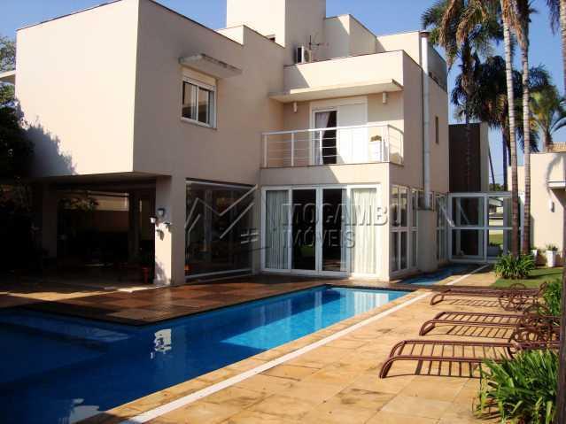 ÁREA EXTERNA - Casa em Condomínio 3 quartos à venda Itatiba,SP - R$ 2.500.000 - FCCN30088 - 1