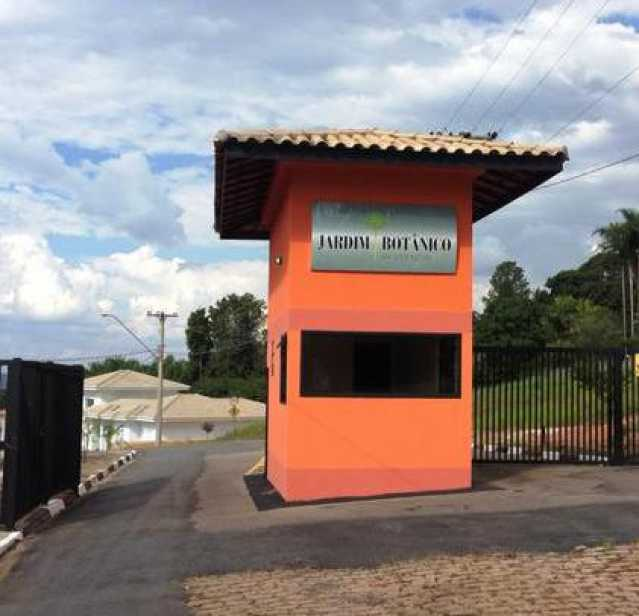 Portaria do Condomínio - Terreno em condomínio À Venda - Condominio Jardim Botânico - Itatiba - SP - Residencial Flamboyant - FCUF00539 - 4