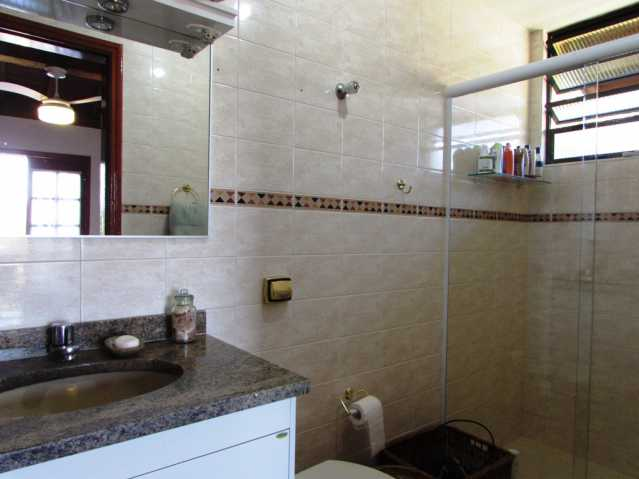 Banheiro da suite - Chácara à venda Itatiba,SP Morada dos Pássaros - R$ 650.000 - FCCH10005 - 5