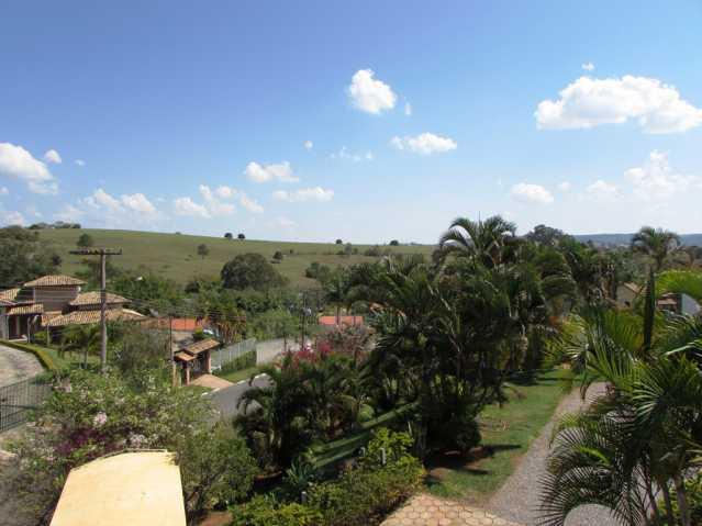 Vista da sacada da suite - Chácara à venda Itatiba,SP Morada dos Pássaros - R$ 650.000 - FCCH10005 - 6