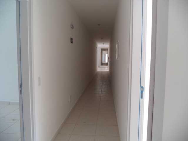 Corredor. - Apartamento À Venda no Condomínio Residencial Bosque das Azaléias - Núcleo Residencial Pedro Fumachi - Itatiba - SP - FCAP20224 - 11