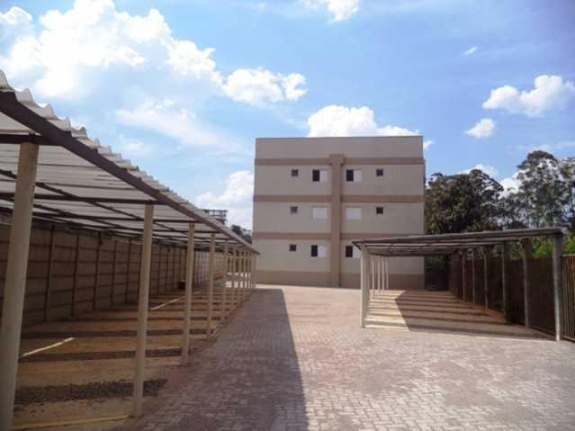 Estacionamento Coberto - Apartamento À Venda no Condomínio Residencial Bosque das Azaléias - Núcleo Residencial Pedro Fumachi - Itatiba - SP - FCAP20224 - 3