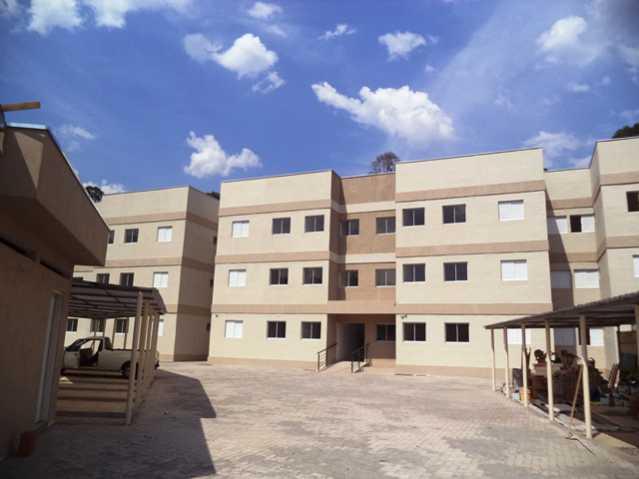 Fachada - Apartamento À Venda no Condomínio Residencial Bosque das Azaléias - Núcleo Residencial Pedro Fumachi - Itatiba - SP - FCAP20224 - 1