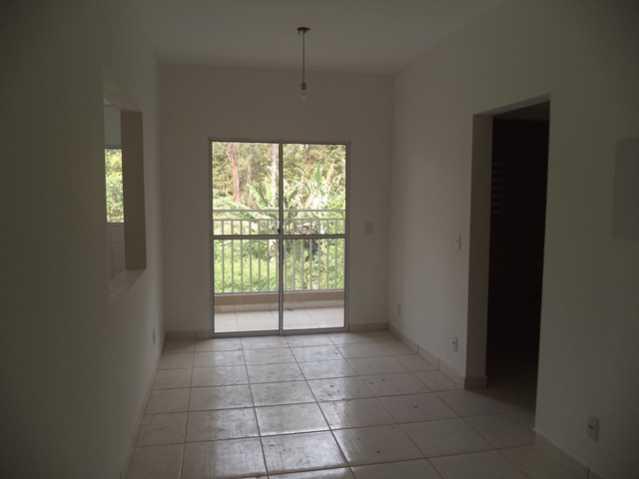 Sala com Sacada - Apartamento À Venda no Condomínio Residencial Bosque das Azaléias - Núcleo Residencial Pedro Fumachi - Itatiba - SP - FCAP20224 - 14