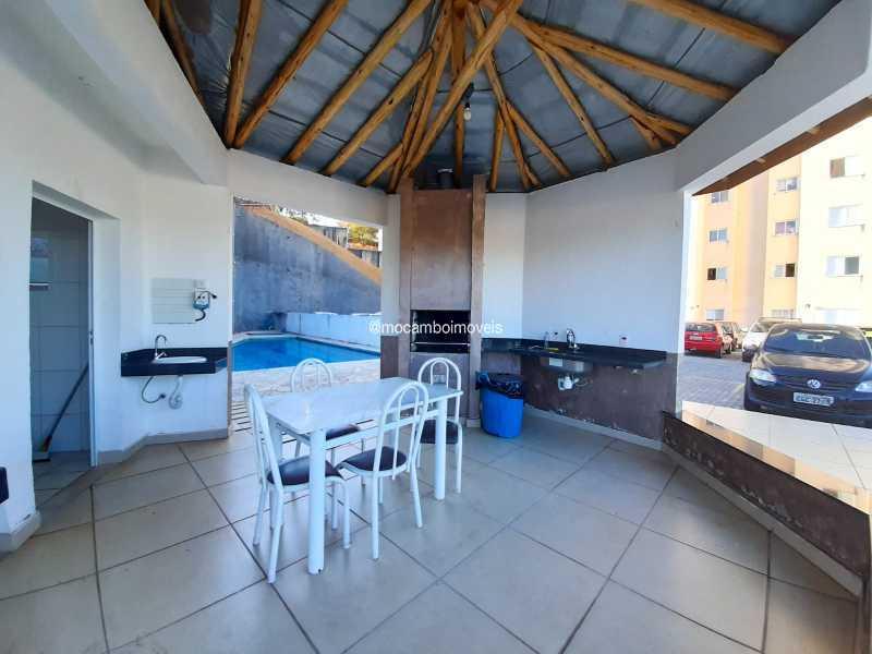 Churrasqueira - Apartamento 2 quartos à venda Itatiba,SP - R$ 195.000 - FCAP20231 - 9