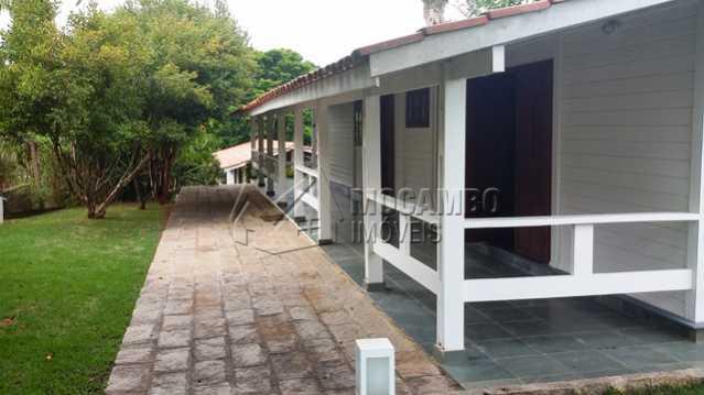 Varanda Lateral - Casa em Condomínio 3 Quartos À Venda Itatiba,SP - R$ 850.000 - FCCN30098 - 8
