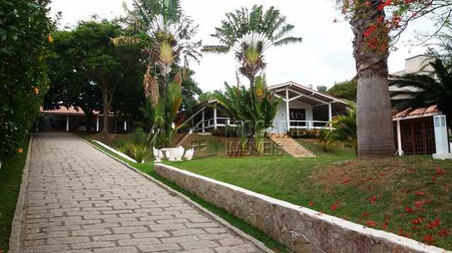 Entrada - Casa em Condomínio 3 Quartos À Venda Itatiba,SP - R$ 850.000 - FCCN30098 - 6