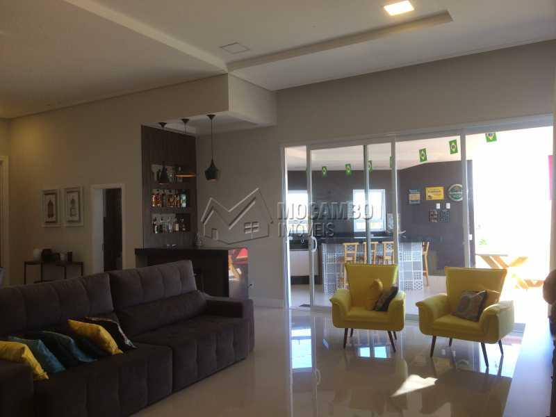 Sala - Casa em Condomínio 3 Quartos À Venda Itatiba,SP - R$ 950.000 - FCCN30103 - 3