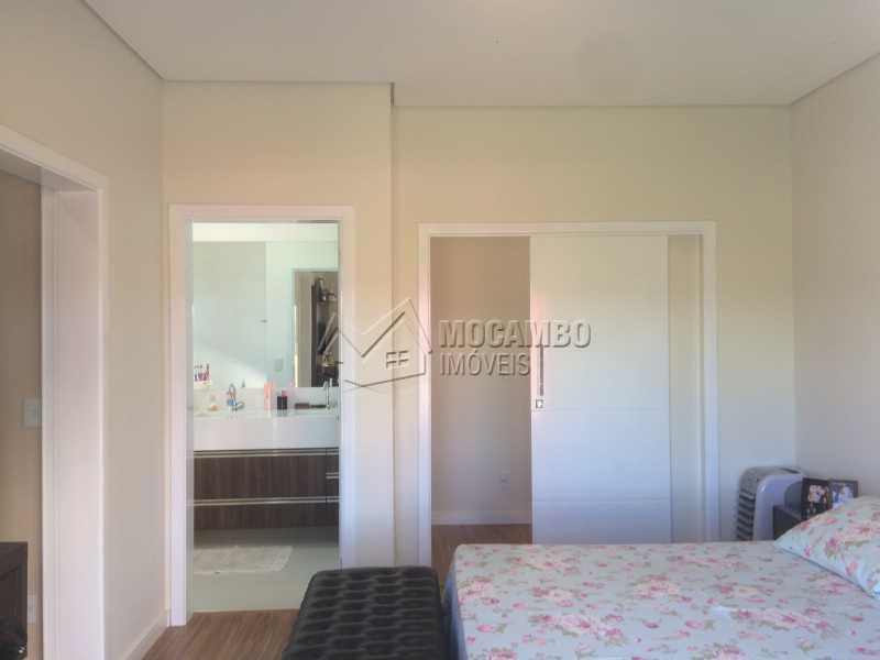 Suíte principal  - Casa em Condomínio 3 Quartos À Venda Itatiba,SP - R$ 950.000 - FCCN30103 - 16
