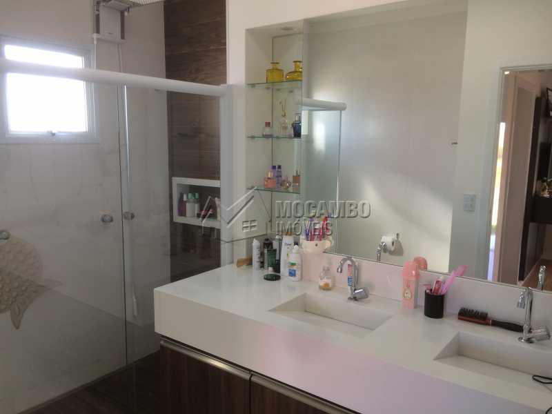 Banheiro suíte principal - Casa em Condomínio 3 Quartos À Venda Itatiba,SP - R$ 950.000 - FCCN30103 - 18