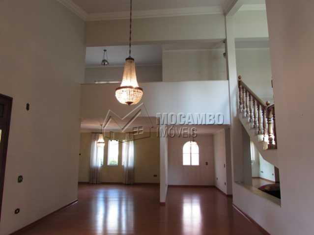 Ampla Sala - Casa em Condomínio 4 quartos à venda Itatiba,SP - R$ 1.000.000 - FCCN40029 - 4