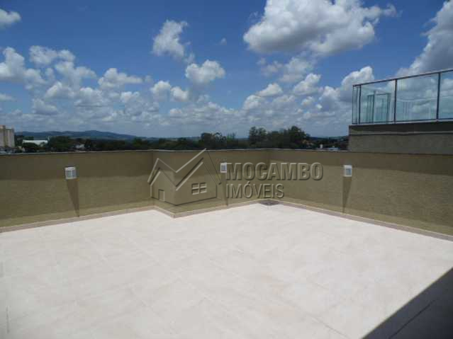 terraço superior - Apartamento Para Alugar no Condomínio Edifício Jardim Nice - Jardim Nice - Itatiba - SP - FCAP20256 - 16