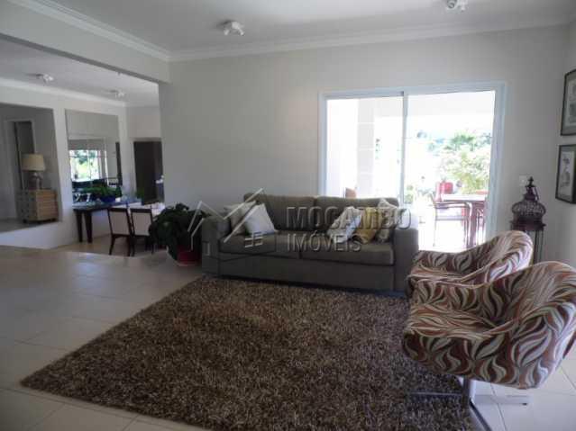 living - Casa em Condomínio 3 quartos para alugar Itatiba,SP - R$ 10.500 - FCCN30117 - 8