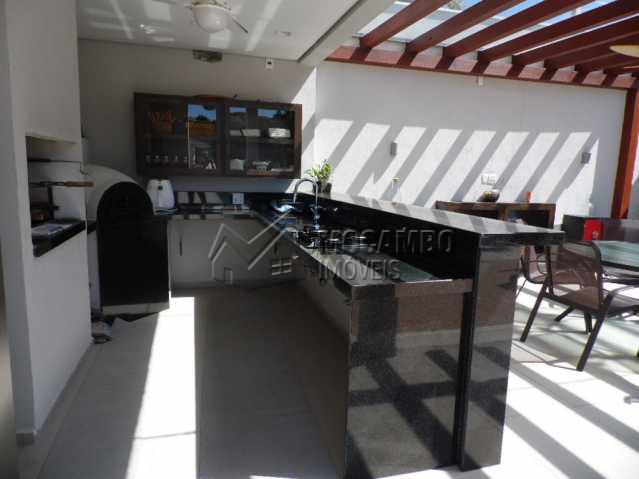 Espaço Gourmet  - Casa em Condomínio 3 quartos para alugar Itatiba,SP - R$ 10.500 - FCCN30117 - 24
