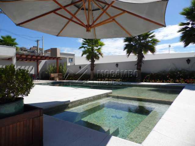 vista da piscina - Casa em Condomínio 3 quartos para alugar Itatiba,SP - R$ 10.500 - FCCN30117 - 26