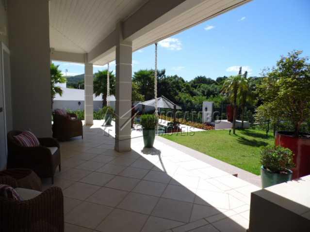 varanda - Casa em Condomínio 3 quartos para alugar Itatiba,SP - R$ 10.500 - FCCN30117 - 22