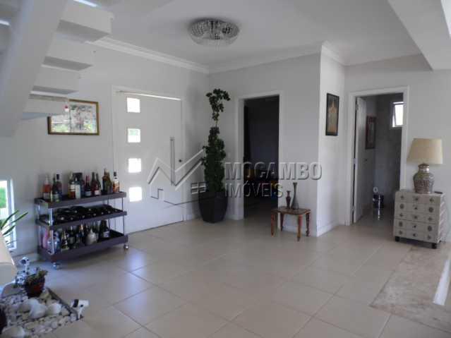 sala dois ambientes - Casa em Condomínio 3 quartos para alugar Itatiba,SP - R$ 10.500 - FCCN30117 - 5