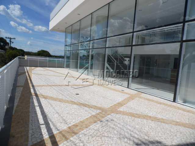 terraço - Sala Comercial Para Venda ou Aluguel no Condomínio Edifício Inside Corporate - Vila Cassaro - Itatiba - SP - FCSL00061 - 8
