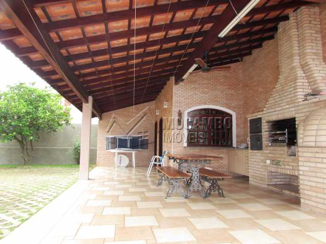 Área Gourmet - Casa em Condomínio Parque São Gabriel, Itatiba, Bairro Itapema, SP À Venda, 4 Quartos, 480m² - FCCN40036 - 28