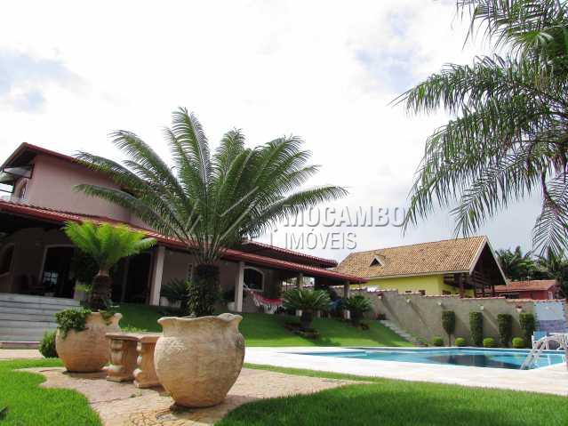 Frente - Casa em Condomínio Parque São Gabriel, Itatiba, Bairro Itapema, SP À Venda, 4 Quartos, 480m² - FCCN40036 - 1
