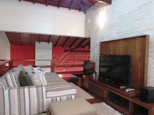 Sala Pav. superior TV - Casa em Condomínio Parque São Gabriel, Itatiba, Bairro Itapema, SP À Venda, 4 Quartos, 480m² - FCCN40036 - 23