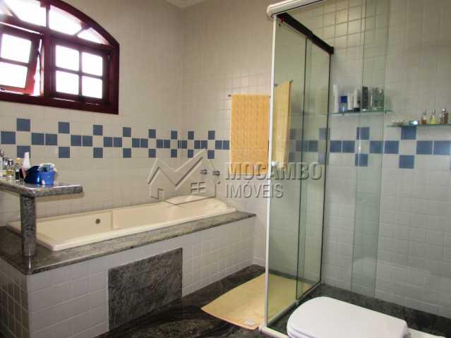 Banheiro suite - Casa em Condomínio Parque São Gabriel, Itatiba, Bairro Itapema, SP À Venda, 4 Quartos, 480m² - FCCN40036 - 15