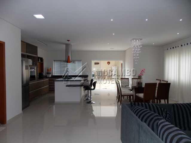 Salas/Cozinha - Casa em Condomínio 3 quartos à venda Itatiba,SP - R$ 1.348.320 - FCCN30131 - 6