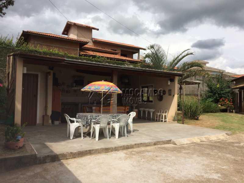 Área de Churrasqueira - Chácara 1050m² à venda Itatiba,SP - R$ 690.000 - FCCH40022 - 4