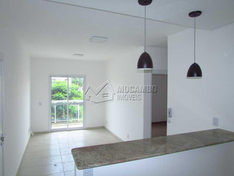 sala 2 ambientes - Apartamento 2 quartos à venda Itatiba,SP - R$ 350.000 - FCAP20287 - 5