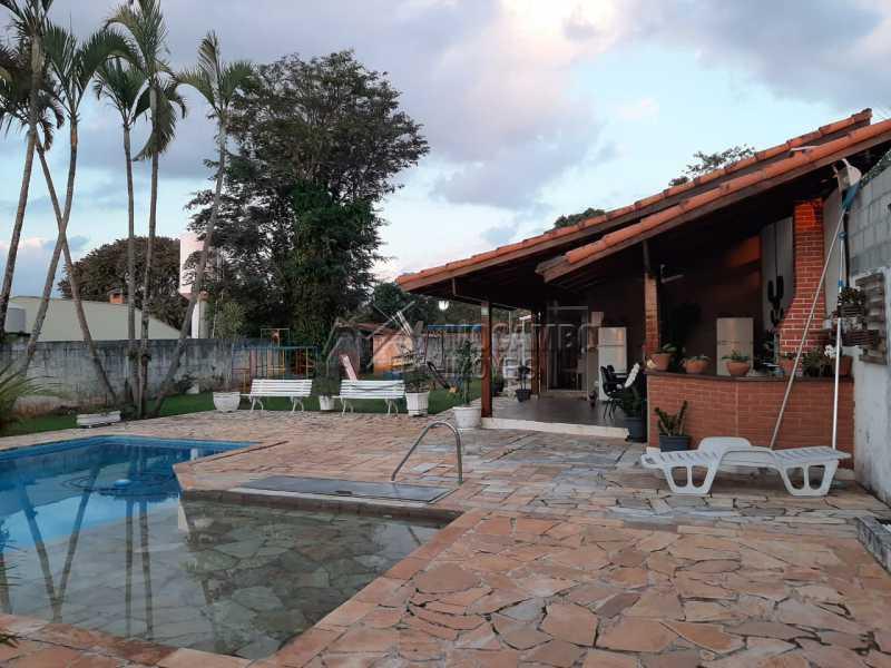 Área gourmet - Chácara 1000m² à venda Itatiba,SP - R$ 450.000 - FCCH30061 - 1