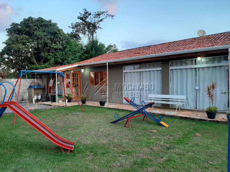 Casa anexa a área gourmet - Chácara 1000m² à venda Itatiba,SP - R$ 450.000 - FCCH30061 - 11
