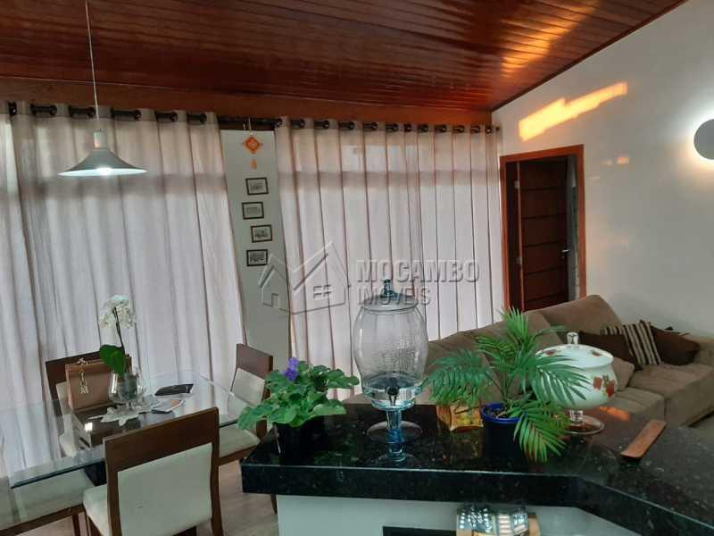 Cozinha e sala - Chácara 1000m² à venda Itatiba,SP - R$ 450.000 - FCCH30061 - 17