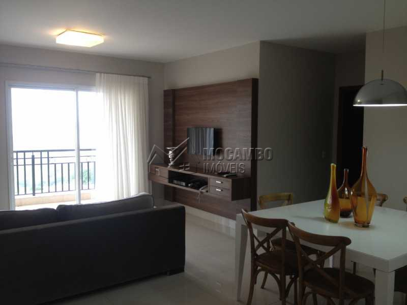 Living - Apartamento Condomínio Edifício Raritá, Avenida Prudente de Moraes,Itatiba, Centro,Vila Santa Cruz, SP À Venda, 3 Quartos, 120m² - FCAP30270 - 1