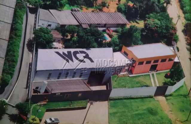vista aerea - Galpão 500m² Para Alugar Itatiba,SP - R$ 3.500 - FCGA00072 - 4