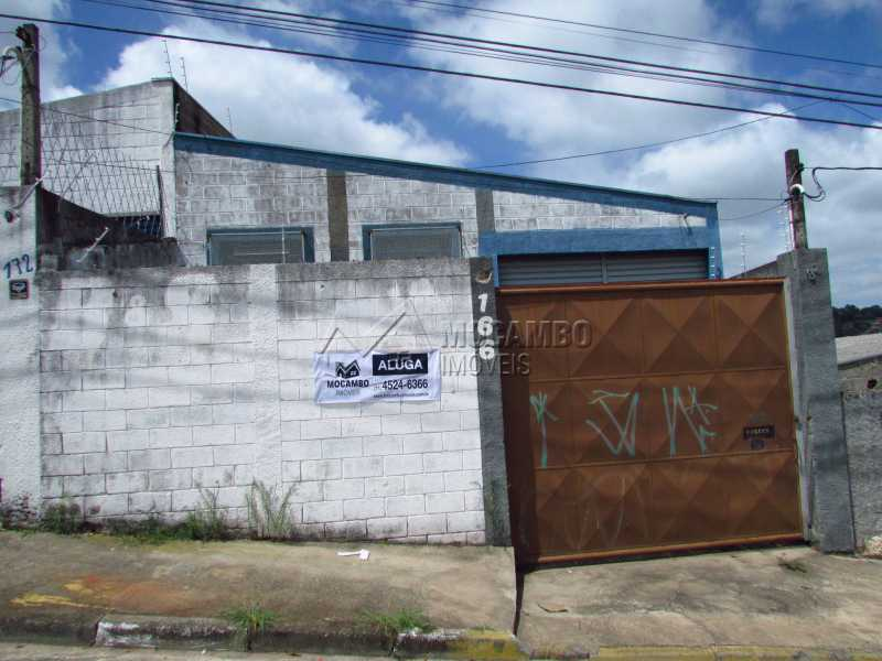 Fachada - Galpão 251m² para alugar Itatiba,SP - R$ 2.500 - FCGA00073 - 1