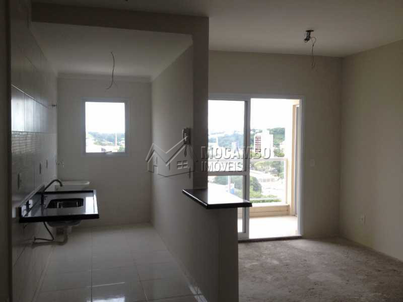 Sala e Cozinha - Apartamento 2 quartos à venda Itatiba,SP - R$ 290.000 - FCAP20301 - 1
