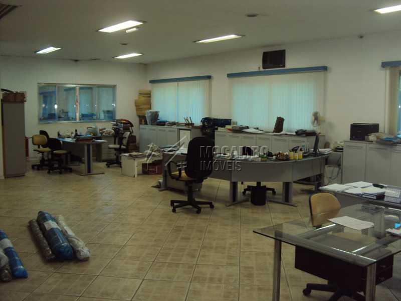 escritorio galpao existente - Galpão Para Alugar - Itatiba - SP - Residencial Moenda - FCGA00075 - 5
