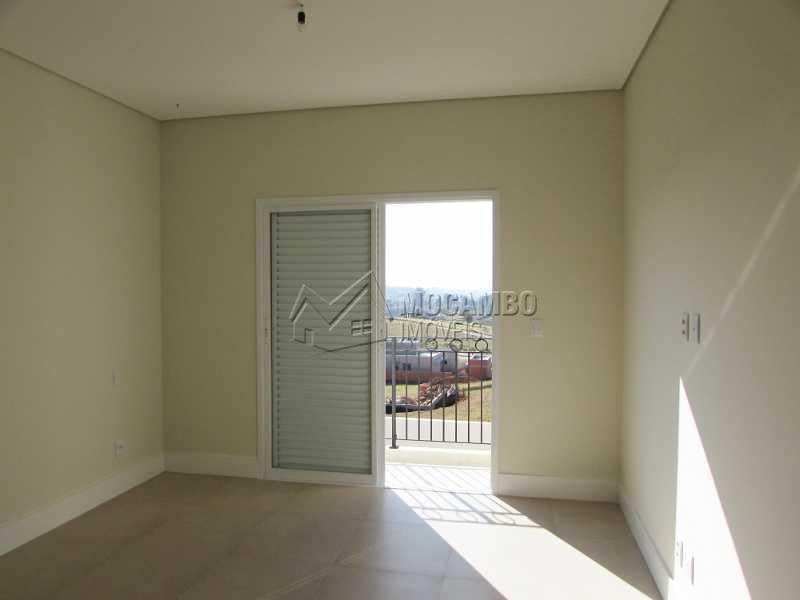 Suíte Master com Sacada - Casa em Condomínio 3 quartos à venda Itatiba,SP - R$ 1.100.000 - FCCN30152 - 14