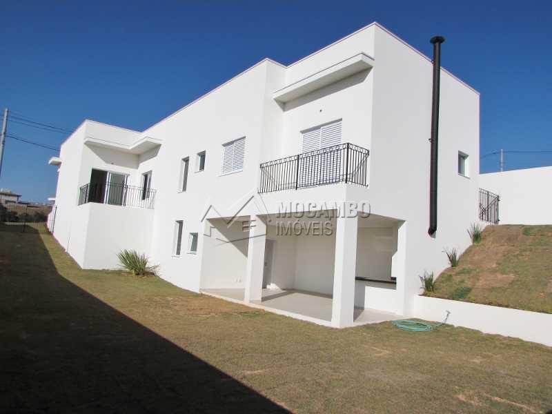 Lateral - Casa em Condomínio 3 quartos à venda Itatiba,SP - R$ 1.100.000 - FCCN30152 - 1