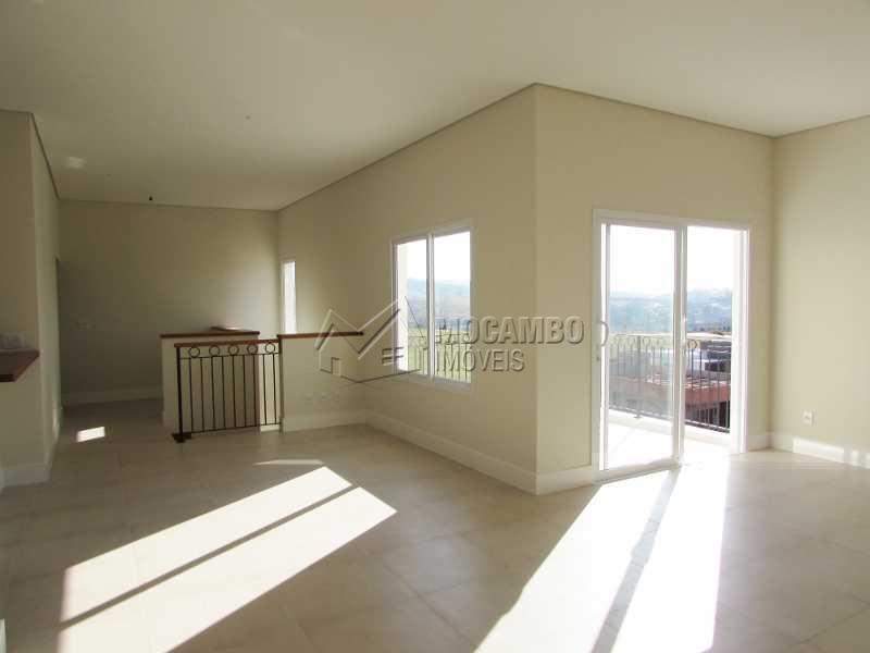 Sala com Varanda - Casa em Condomínio 3 quartos à venda Itatiba,SP - R$ 1.100.000 - FCCN30152 - 19
