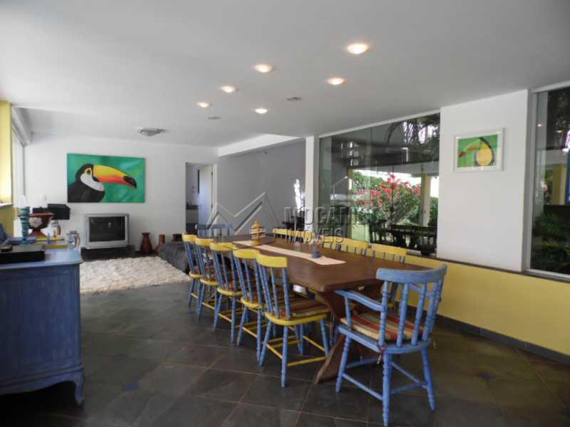 sala de jantar - Casa em Condominio PARA ALUGAR, Condomínio Capela do Barreiro, Condomínio Capela do Barreiro, Itatiba, SP - FCCN50006 - 24