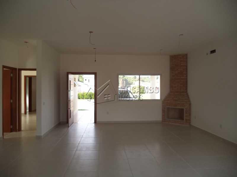 Sala - Casa em Condomínio Bosque dos Pires, Itatiba, Bairro Sítio da Moenda, SP À Venda, 4 Quartos, 240m² - FCCN40050 - 8