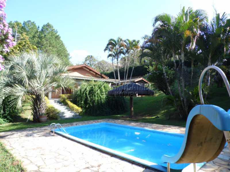 piscina com escorregador - Casa em Condomínio 3 quartos à venda Itatiba,SP - R$ 850.000 - FCCN30161 - 12