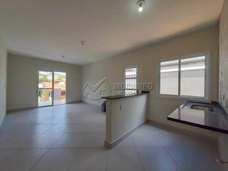 Cozinha Americana - Casa 3 quartos à venda Itatiba,SP - R$ 275.000 - FCCA31478 - 6