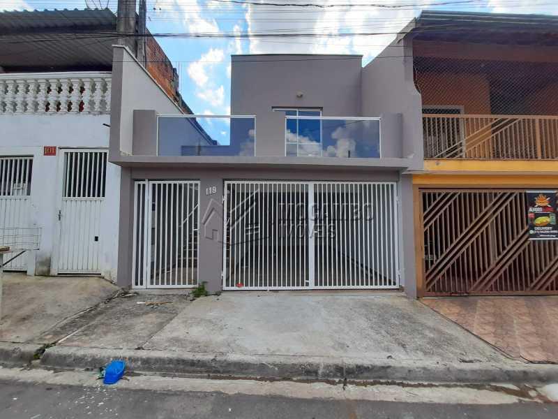 Frente - Casa 3 quartos à venda Itatiba,SP - R$ 275.000 - FCCA31478 - 17