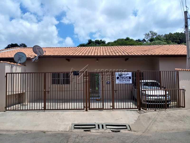Fachada - Apartamento 1 Quarto Para Alugar Itatiba,SP - R$ 800 - FCAP10026 - 1