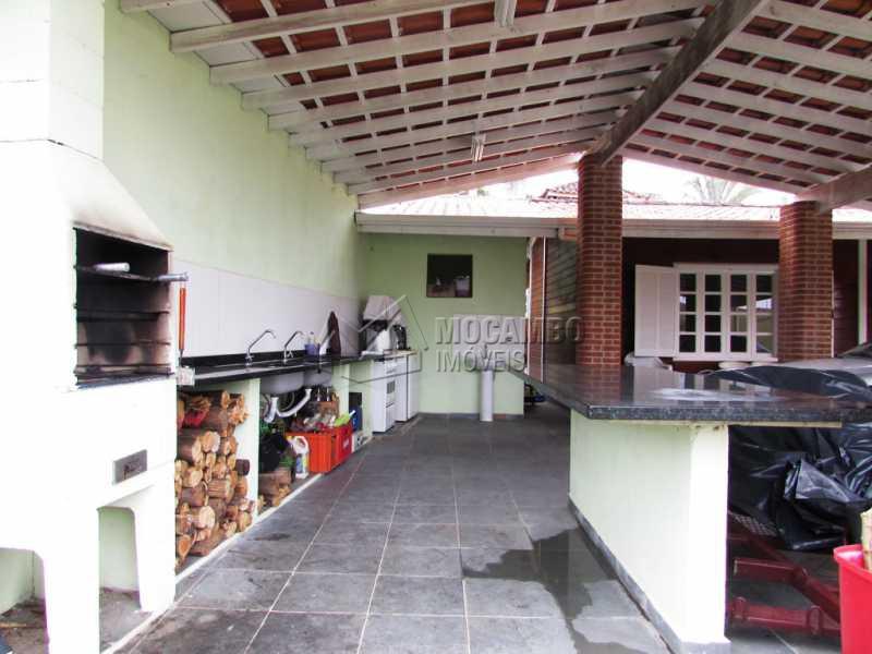 Area Gourmet - Casa em Condomínio 3 quartos à venda Itatiba,SP - R$ 600.000 - FCCN30165 - 11