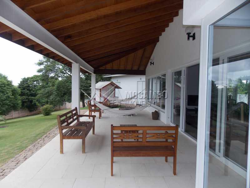 Área Externa  - Casa em Condominio À Venda - Itatiba - SP - Sítio da Moenda - FCCN100001 - 14