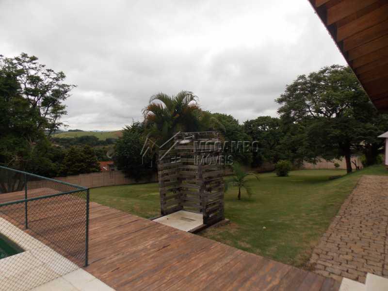 Deck - Casa em Condominio À Venda - Itatiba - SP - Sítio da Moenda - FCCN100001 - 16